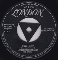 Little Richard And His Band - Jenny, Jenny / Miss Ann