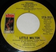 Little Milton - Walking The Back Streets And Crying