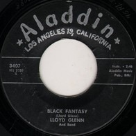 Lloyd Glenn And Band - Black Fantasy / Cute-Tee
