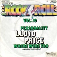 Lloyd Price And His Orchestra - Personality / Have You Ever Had The Blues