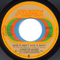 Lonette McKee - Save It (Don't Give It Away) / Do To Me