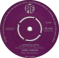 Lonnie Donegan / Lonnie Donegan's Skiffle Group - I Wanna Go Home (The Wreck Of The John 'B') / Jimmie Brown The Newsboy