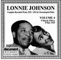 Lonnie Johnson - Complete Recorded Works 1925-1932 In Chronological Order Volume 4 (9 March 1928 To 8 May 1929)