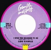 Lou Rawls - I Wish You Belonged To Me