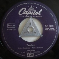 Lou Busch & His Orchestra - Zambezi / Rainbow's End