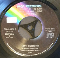 Love Unlimited - Walkin' In The Rain With The One I Love
