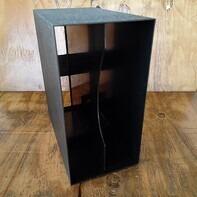 LP-Box, 70er Jahre - in anthrazit, für ca. 40 LPs