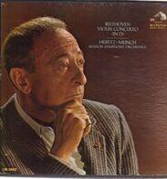 Ludwig van Beethoven , Jascha Heifetz • Charles Munch , Boston Symphony Orchestra - Violin Concerto (In D)