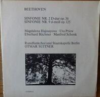 Beethoven/Kurt Masur, Gewandhausorchester Leipzig, T. Adam, P. Schreier a.o. - Sinfonie Nr. 2 D-dur Op. 36 / Sinfonie Nr. 9 D-moll Op. 125