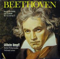 Beethoven - W. Kempff - Konzert Für Klavier Und Orchester Nr. 5 Es-dur Op. 73