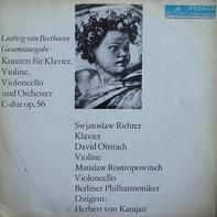 Beethoven - Konzert für Klavier, Violine, Violoncello und Orchester C-dur Op.56