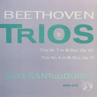 Beethoven - Trios Nr.7 in B-dur / Nr. 4.. (Trio Santoliquido)