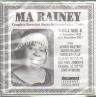 Ma Rainey - Complete Recorded Works In Chronological Order Volume 4 (C. November 1926 To C. December 1927)