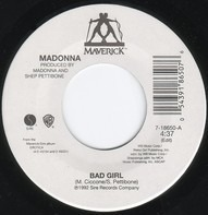Madonna - Bad Girl