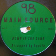 Main Source - How My Man Went Down In The Game / Live At The BBQ