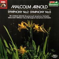 Malcolm Arnold - Symphony No. 2 / Symphony No. 5