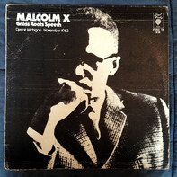 Malcolm X - Grass Roots Speech Detroit, Michigan November 1963