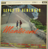 Mantovani And His Orchestra - Songs To Remember