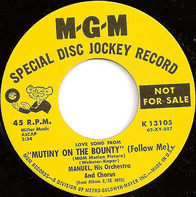 "Manuel, His Orchestra And Chorus - Love Song From ""Mutiny On The Bounty"" (Follow Me)"