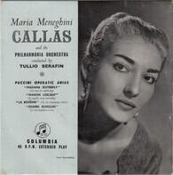 Maria Callas And The Philharmonia Orchestra - Puccini Operatic Arias