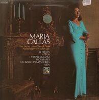 Maria Callas - Aria's Uit Aida, Attila, Un Ballo In Maschera, I Lombardi, I Vespri Siciliani, Il Pirata