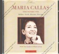 Maria Callas - Debut in Paris 1958 (G.Sebastian)