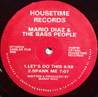 Mario Diaz & The Bass People - Let's Do This