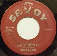 Marion Williams And The Stars Of Faith - Lord My Keeper Be / Blood Saved Me