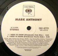 Mark Anthony, Marc Anthony - I Need To Know