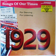 Song Hits Of 1929 - Songs Of Our Times - Song Hits Of 1929