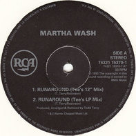 Martha Wash - Runaround + Carry On (The Todd Terry Club Remixes)