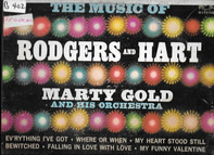 Marty Gold , Martin Gold And His Orchestra - The Music Of Rodgers And Hart