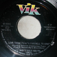 """Marty Gold and his Orchestra and Chorus - Love Theme From """"A Farewell To Arms"""""""
