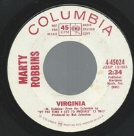 Marty Robbins - Virginia / Camelia