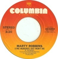 Marty Robbins - Some Memories Just Won't Die