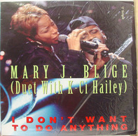 Mary J. Blige Duet With K-Ci - I Don't Want To Do Anything