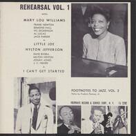Mary Lou Williams , Hilton Jefferson - Rehearsal Vol. 1