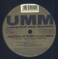 Masters At Work Present India - I Can't Get No Sleep '95