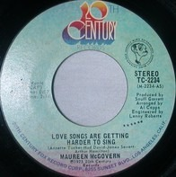 Maureen McGovern - Love Songs Are Getting Harder To Sing / Stop Me(If You've Heard This Song Before)