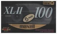 Maxell - Audio-Kassetten XL II 100