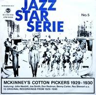 McKinney's Cotton Pickers - Jazz Star Serie No. 5