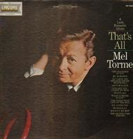 Mel Tormé - A Lush, Romantic Album That's All