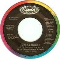Melba Moore & Kashif - Love The One I'm With (A Lot Of Love)