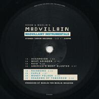 MF Doom & Madlib - Madvillain - Madvillainy Instrumentals
