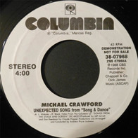 Michael Crawford - Unexpected Song
