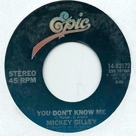 Mickey Gilley - You Don't Know Me / Jukebox Argument