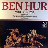 Miklós Rózsa Conducting National Philharmonic Orchestra - Ben Hur