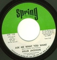 Millie Jackson - Ask Me What You Want / I Just Can't Stand It