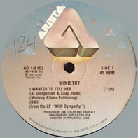 Ministry - I Wanted To Tell Her