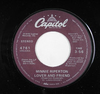 Minnie Riperton - Lover And Friend